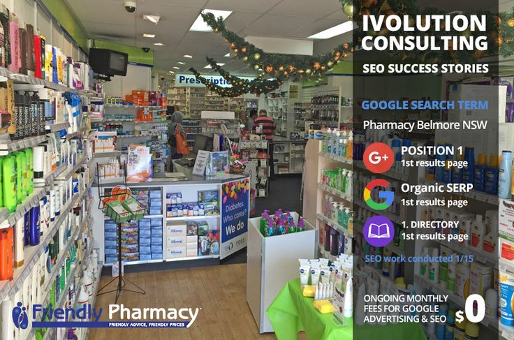 SEO Success Stories - Online Marketing Adelaide. This pharmacy went from invisible to No. 1 in less than 12 months.