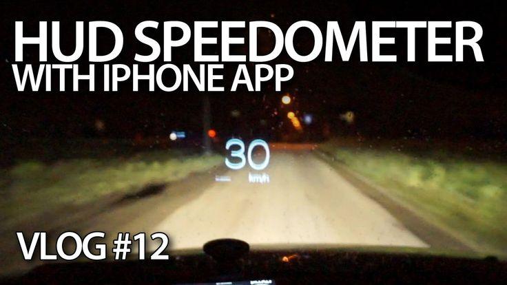 iPhone app #HUD for your car. #cars #iOS