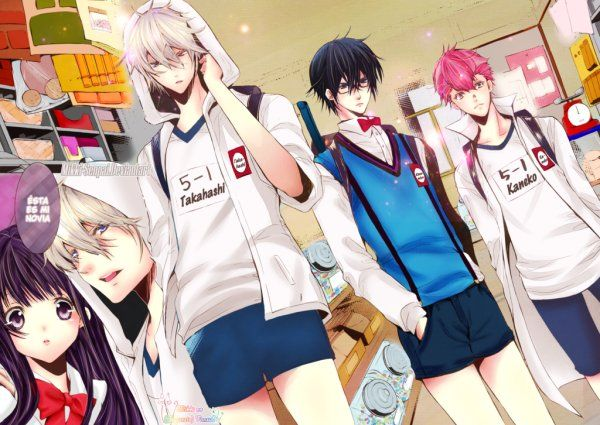 (Summer 2016) - Hatsukoi Monster | 'Hatsukoi Monster' Anime Cast Expands, Premiere Scheduled