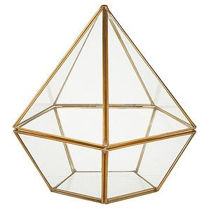 LTD Glass Diamond Shaped Box – Target Australia