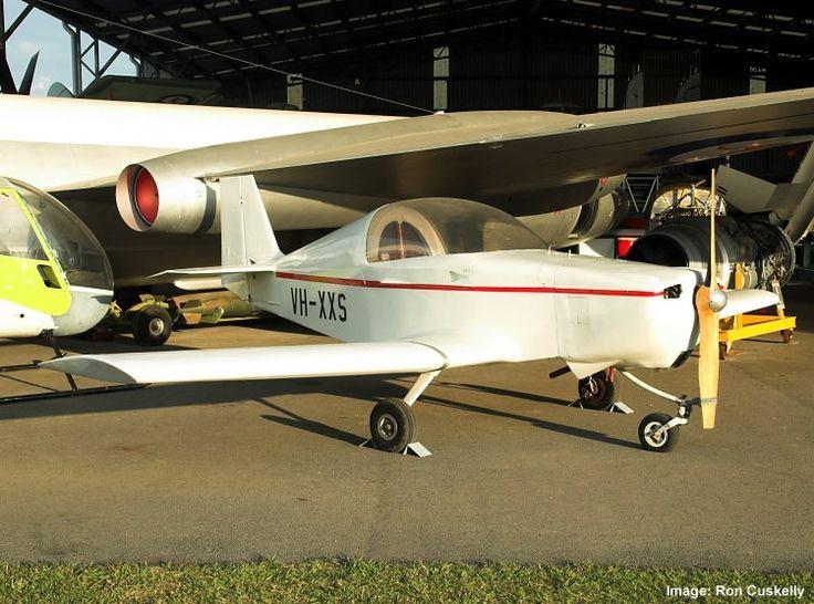 QAM AIRCRAFT COLLECTION, Rand Robinson KR-2 VH-XXS 'The Beast' c/n Q082 17/8/13. Photograph Ron Cuskelly.