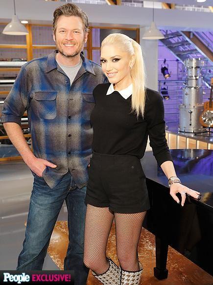 Gwen Stefani Is Boyfriend Blake Shelton's Voice Advisor ... гвен стефани