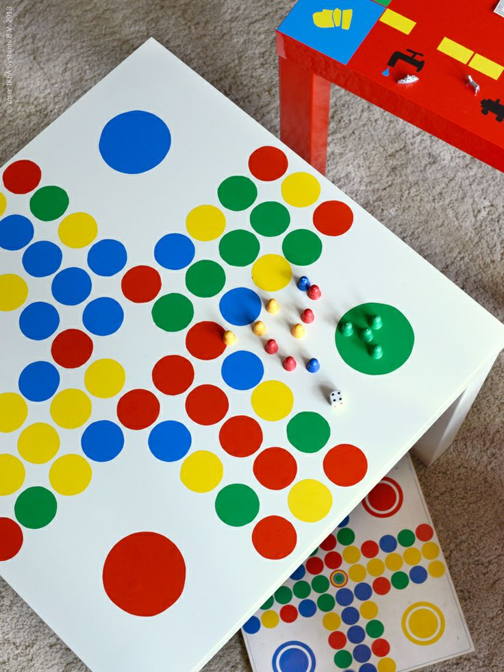 DIY: Gör om ditt LACK bord till ett Fia med knuff-spel.