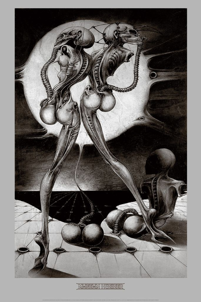 ATOMIC CHILDREN by H.R. Giger