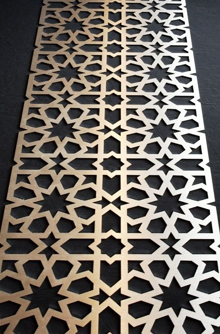 Table inspiration morrocan panel