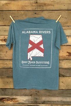 Alabama Rivers Flag Shirt