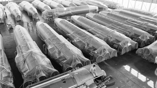 Decommissioned Atlas ICBMs, 1965