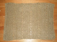 crochet jute rug for doormat or outside a litter box. when i get my own kitty, i'm going to make one!