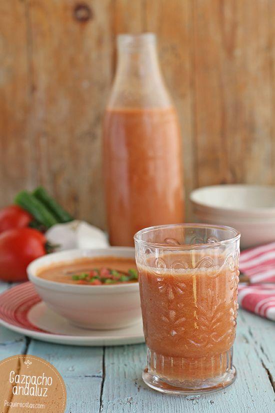 Gazpacho. Receta de gazpacho andaluz