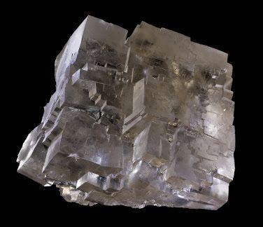 Halite from the Wieliczka Salt Mine, UNESCO World Heritage Site, Wieliczka, Malopolskie, Poland. Credit: Didier Descouens.