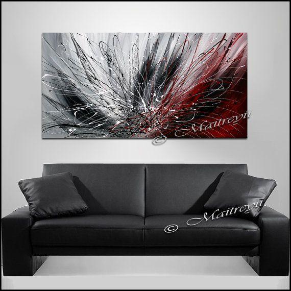 1000 id es sur le th me toile abstraite sur pinterest abstrait art abstrait et peintures sur. Black Bedroom Furniture Sets. Home Design Ideas