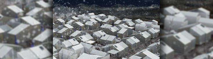 Arquitetas portuguesas premiadas pela criação de um abrigo para refugiados na Síria  O objetivo final do curso consistia na projeção de abrigos para as vítimas de guerras ou desastres naturais. #Portugal #Arquitetura