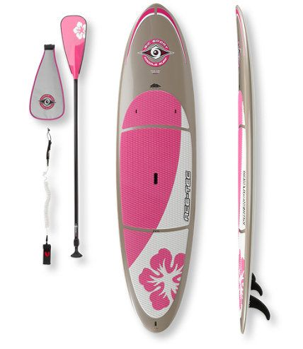 "Women's BIC Sport ACE-TEC Platinum Wahine SUP Package, 10'6"": Stand-Up Paddleboards at L.L.Bean"