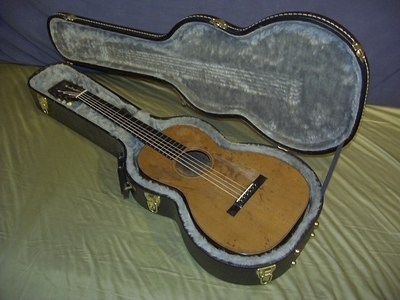 Vintage Pre 1898 C F Martin 2 1 2 17 Parlor Guitar 1800 S Acoustic With Case Guitar Music Gear Acoustic Guitar