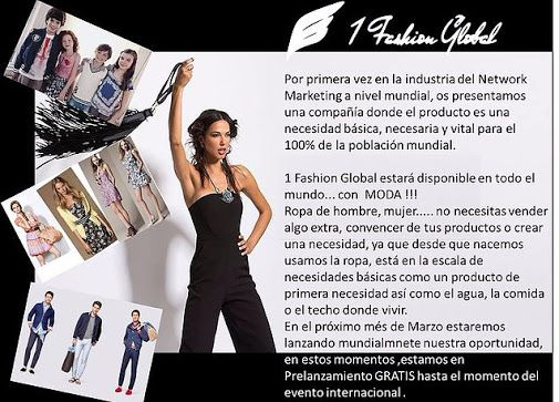 1 Fashion Global presentacion
