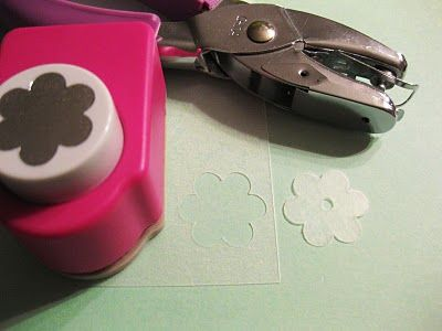 Shrinky Dinks Flowers and Leaves - Use those fancy punches to make all kinds of nice shapes!