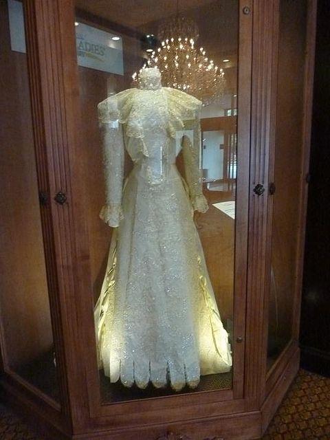 Ida Mckinley S Inaugural Gown Flotus Pinterest Lady