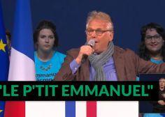 """Daniel Cohn-Bendit soutient """"le p'tit Emmanuel"""" Macron même s'il faut """"l'aider un peu"""" sur l'écologie"""