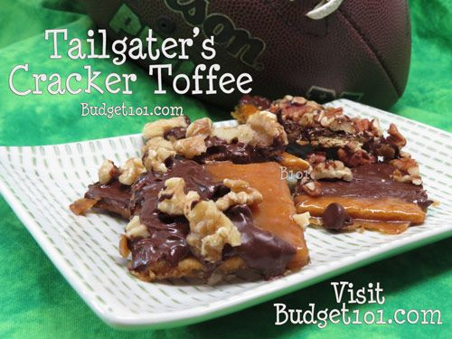 Budget101.com - - Tailgaters Cracker Toffee | Cracker Toffee | Saltine Toffee