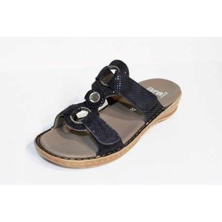 ARA mule marine  livraison offert cardel-chaussures.com