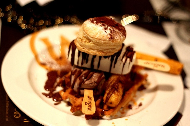 One of the many glorious desserts at Magnum Cafe - Jakarta, Indonesia