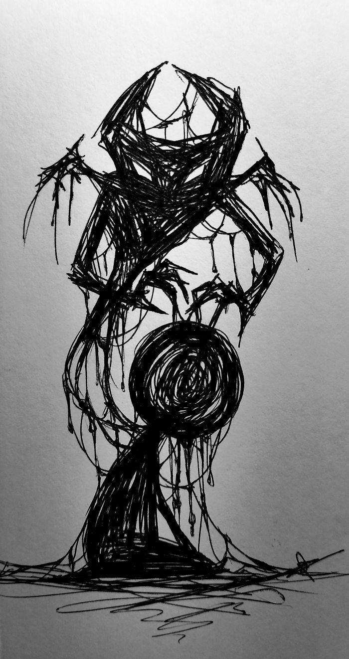 Diese Illustratorin bricht das Tabu der Depression: Entdecken Sie ihre 15 Zeichnungen …
