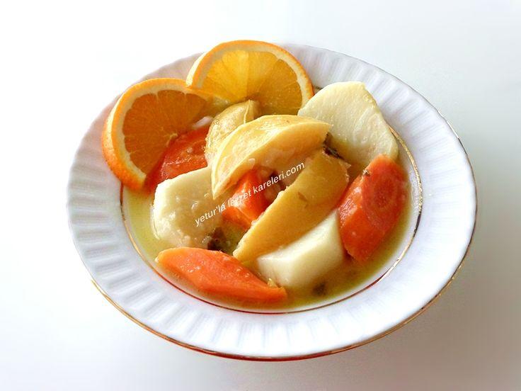 yetur'la lezzet kareleri: ayvalı-portakal soslu zeytinyağlı kereviz