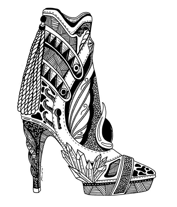 17 best ideas about shoe drawing on pinterest drawing