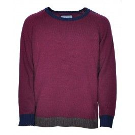 WARDOUR KNIT (BURGUNDY) £120 available at www.designertop2bottom.com