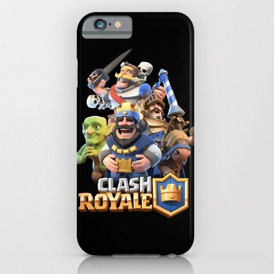 Clash Royale iphone case, smartphone