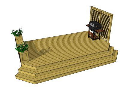 Simple deck idea