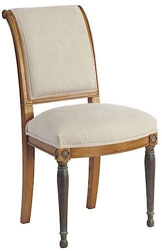 Chaise Saint-Honoré tapissée