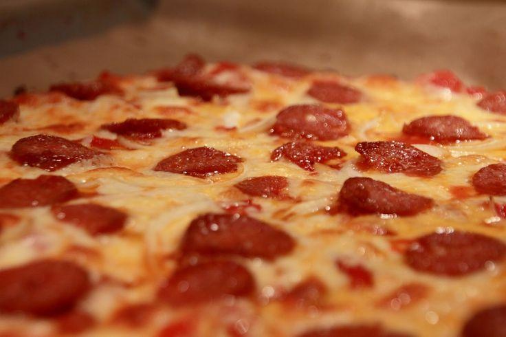 Lidt om LCHF: Squash Pizzabund