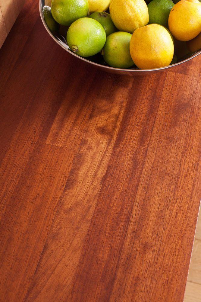 Iroko Solid Wood Worktops, Oil and Accessories