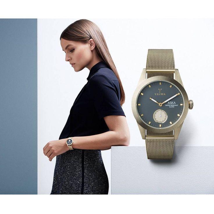 Dodaj elegancji każdej stylizacji! #triwa #triwawatch #business #elegance #coffeebreak #butikiswiss #fashion #elegance
