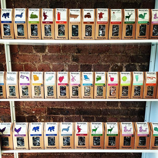 SO.MUCH.TEA  Can you spot your fave blend?? #heaven