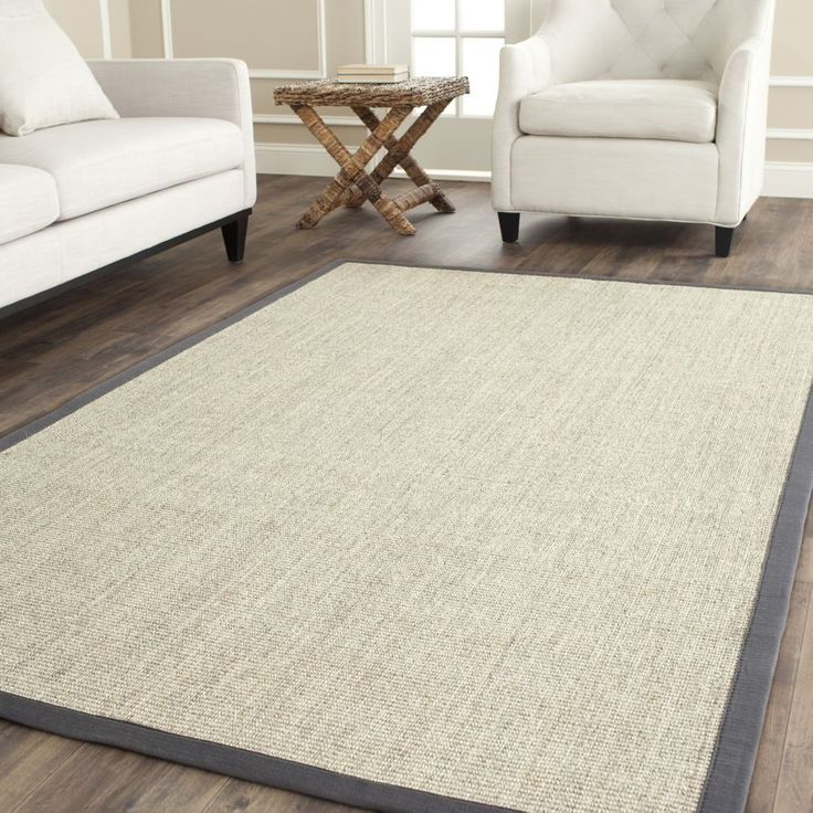 This rug from Safavieh's Natural Fiber collection is intricately constructed with natural sisal. The eco-friendly fiber is cleanly woven, durable, innately soft, and will undoubtedly add a warm feeling to any home design.