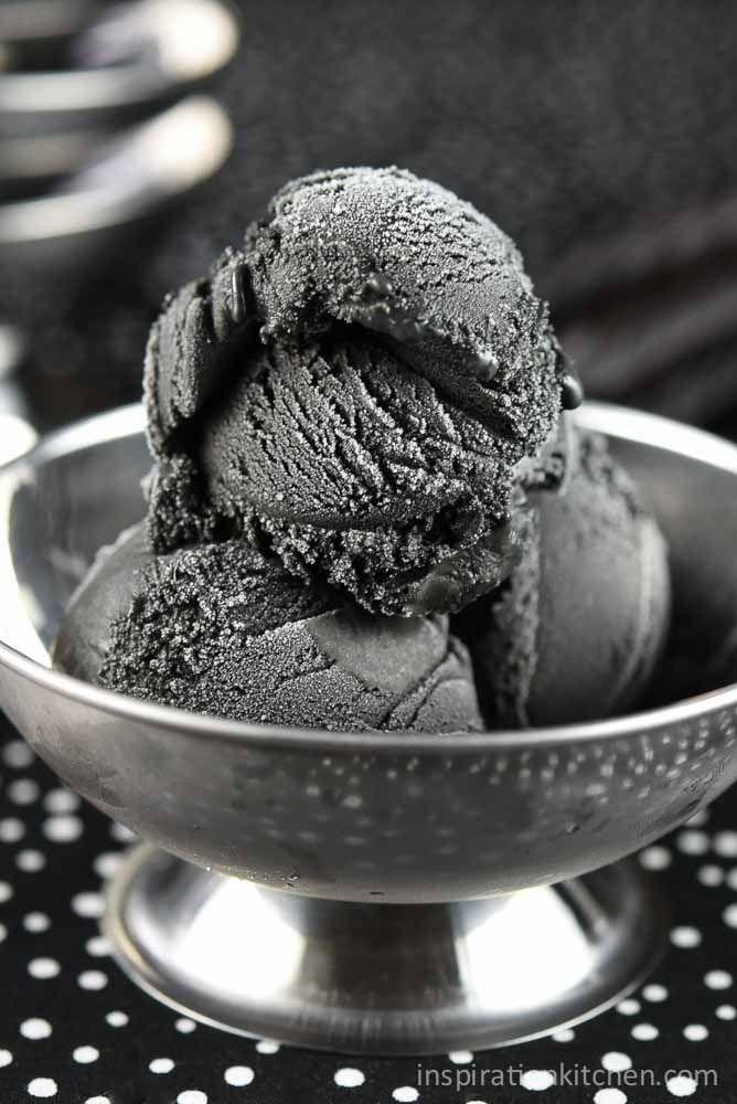 Black Licorice Ice Cream | Inspiration Kitchen