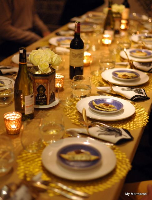 New Years Eve: Grand Fiestas, Gold Tablecloths, Formal Holidays Parties Drinks, Food And Drinks, Style Wine, Formal Dinners, Wine Bottle, Families Style, Food Drinks