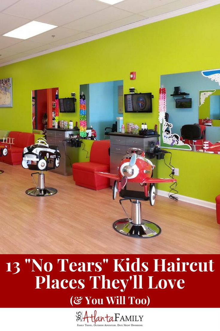 Check this out! 13 kids haircut places geared directly towards kids, from tots to tweens and specializing in everything from classic cuts to brilliant braids.