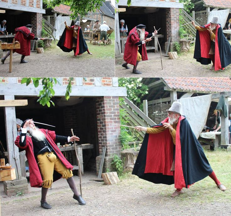 Kentwell Advent Calendar - 23rd December   Mad Jack and Dr John 'playing nicely'. Everyone else is carrying on with their work - this is obviously not an unusual occurrence at the Barns…  Thanks to Little Kit for sharing this demonstration of the Kentwell wizards in action!