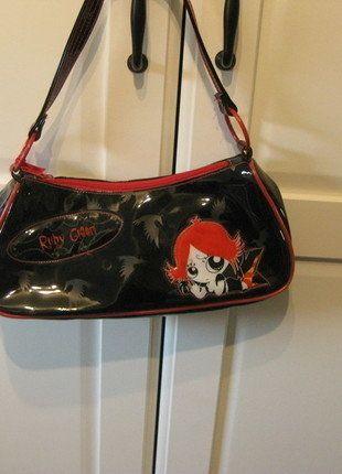 Kaufe meinen Artikel bei #Kleiderkreisel http://www.kleiderkreisel.de/damentaschen/handtaschen/92598278-lack-tasche-schwarz-rot-anime-manga