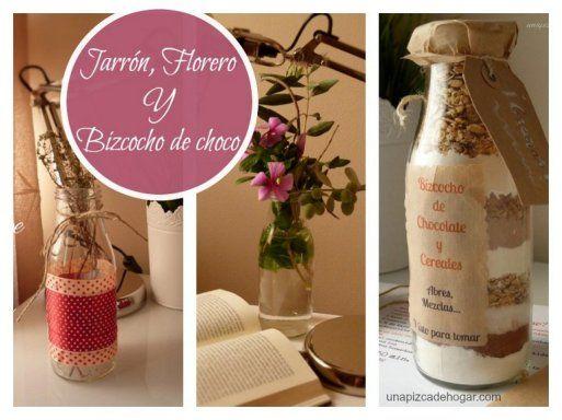 12 estupendas ideas para reciclar el vidrio botellas y for Manualidades para decorar el hogar
