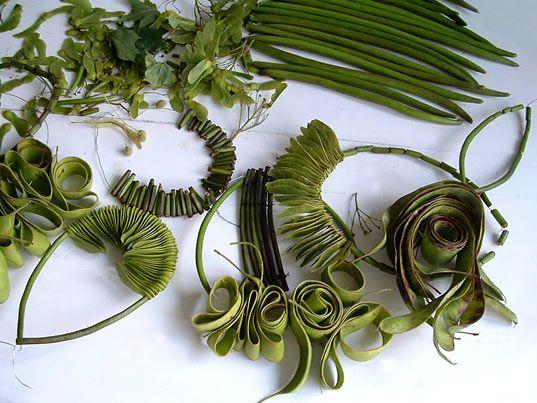 Ceca Georgieva Green Jewelry