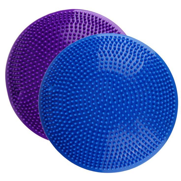 32 cm PVC Aufblasbare Yoga Ball Pad Stabilität Balance Disc Massage Kissen Matte Ball Fitness Übung Training Ball Für Gym hause