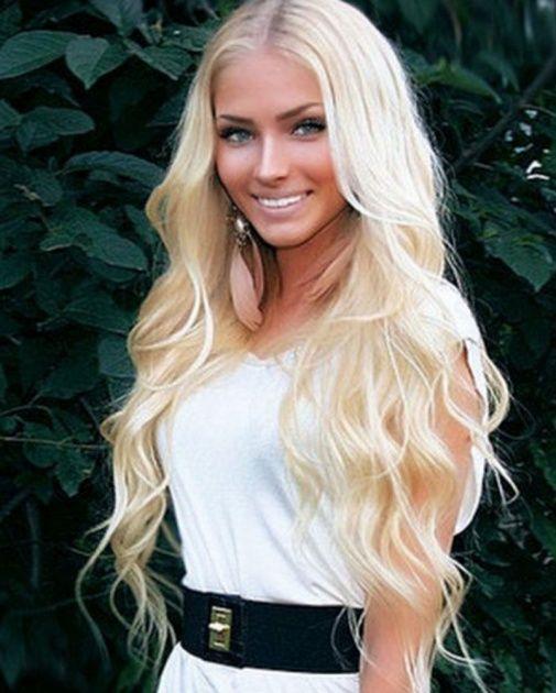 Hair...Make Up... So Pretty!Blondes Hair, Hair Colors, Wavy Hair, Dreams Hair, Makeup, Long Hair, Longhair, Hair Style, The Waves