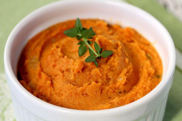 wice Baked Sweet Potatoes with Taleggio Cheese