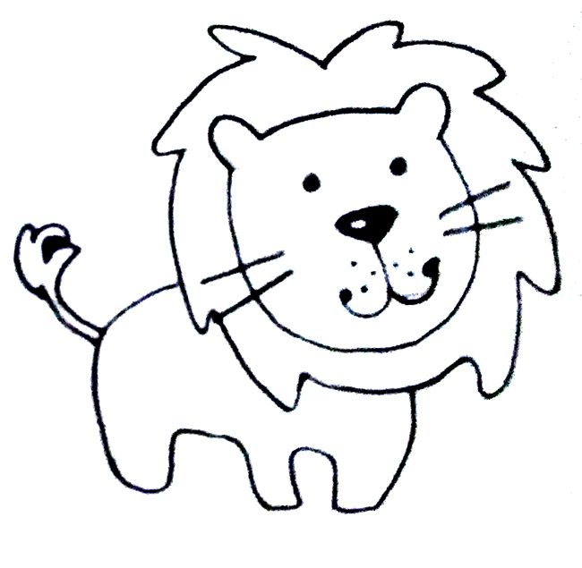 Aprender A Dibujar Un Leon Leon A Lapiz Dibujos A Lapiz Faciles Leon Infantil