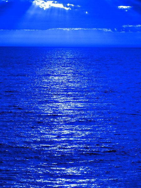 The wide blue sea!!