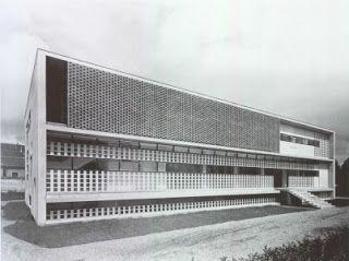 Ignazio Gardella | dispensario antitubercolare di Alessandria tra il 1934 e il 1938.